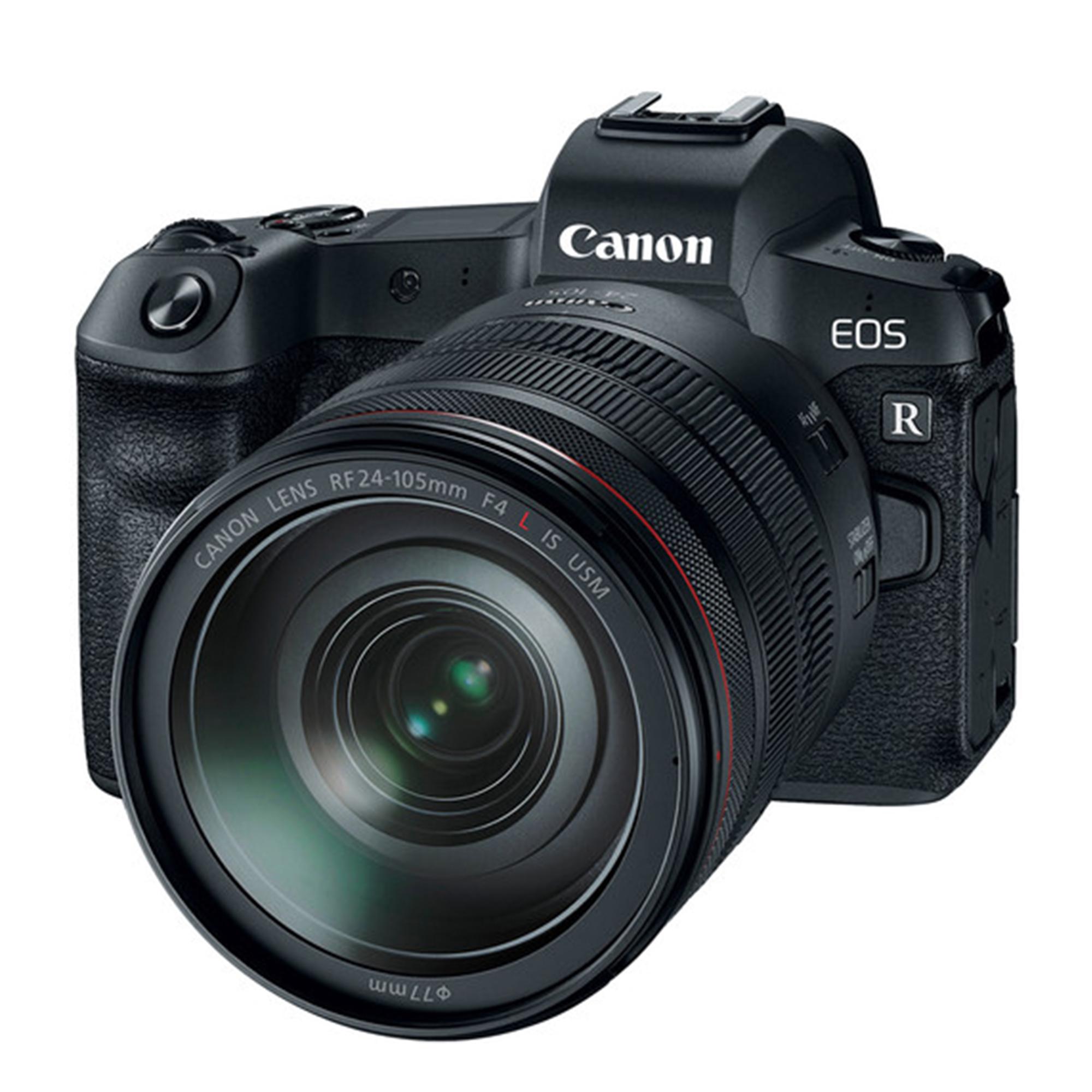 canon EOS R Mirrorless Digital Camera + RF 24-105mm F4 IS USM Lens