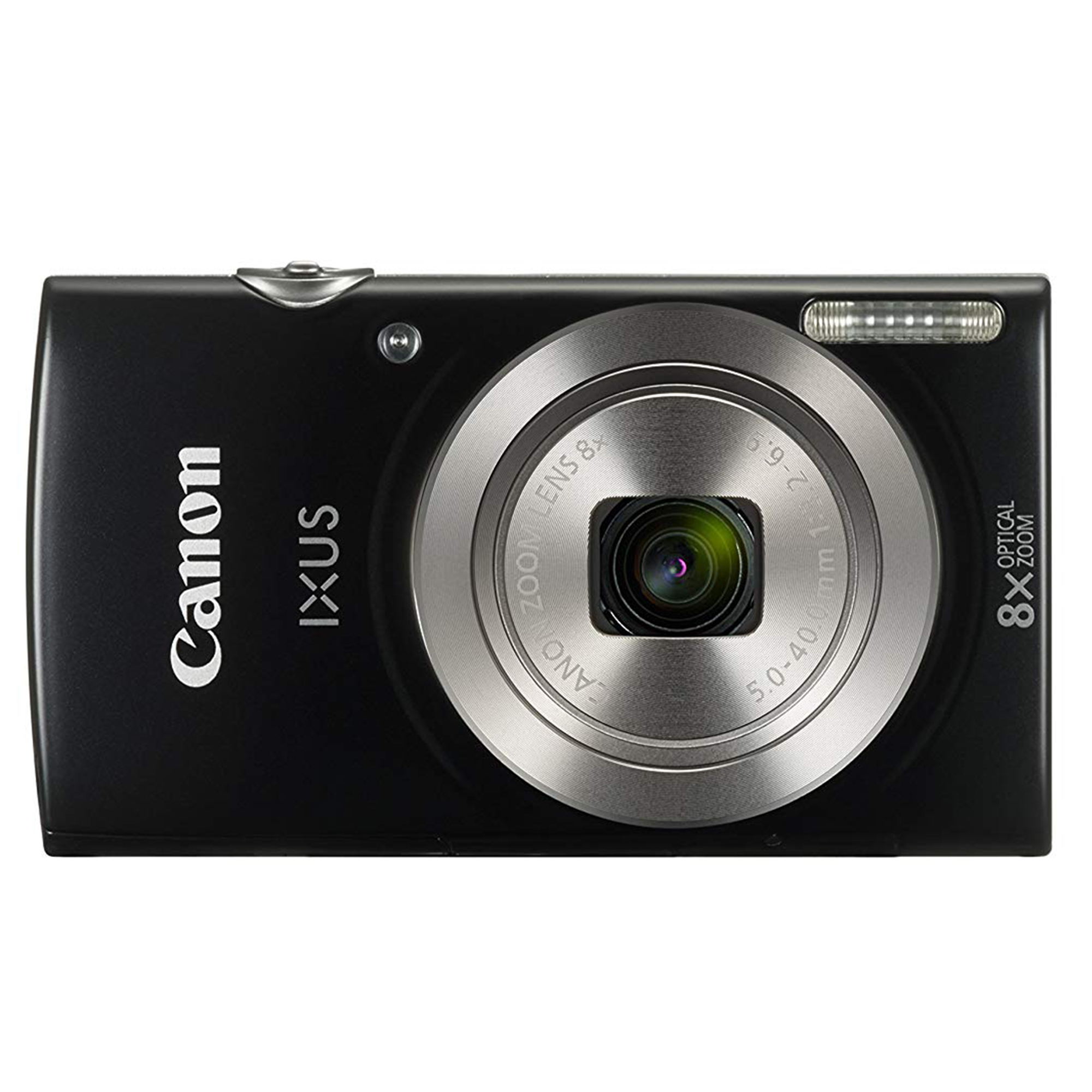 Canon IXUS 185 Black + Free Bag & Memory 8 GB