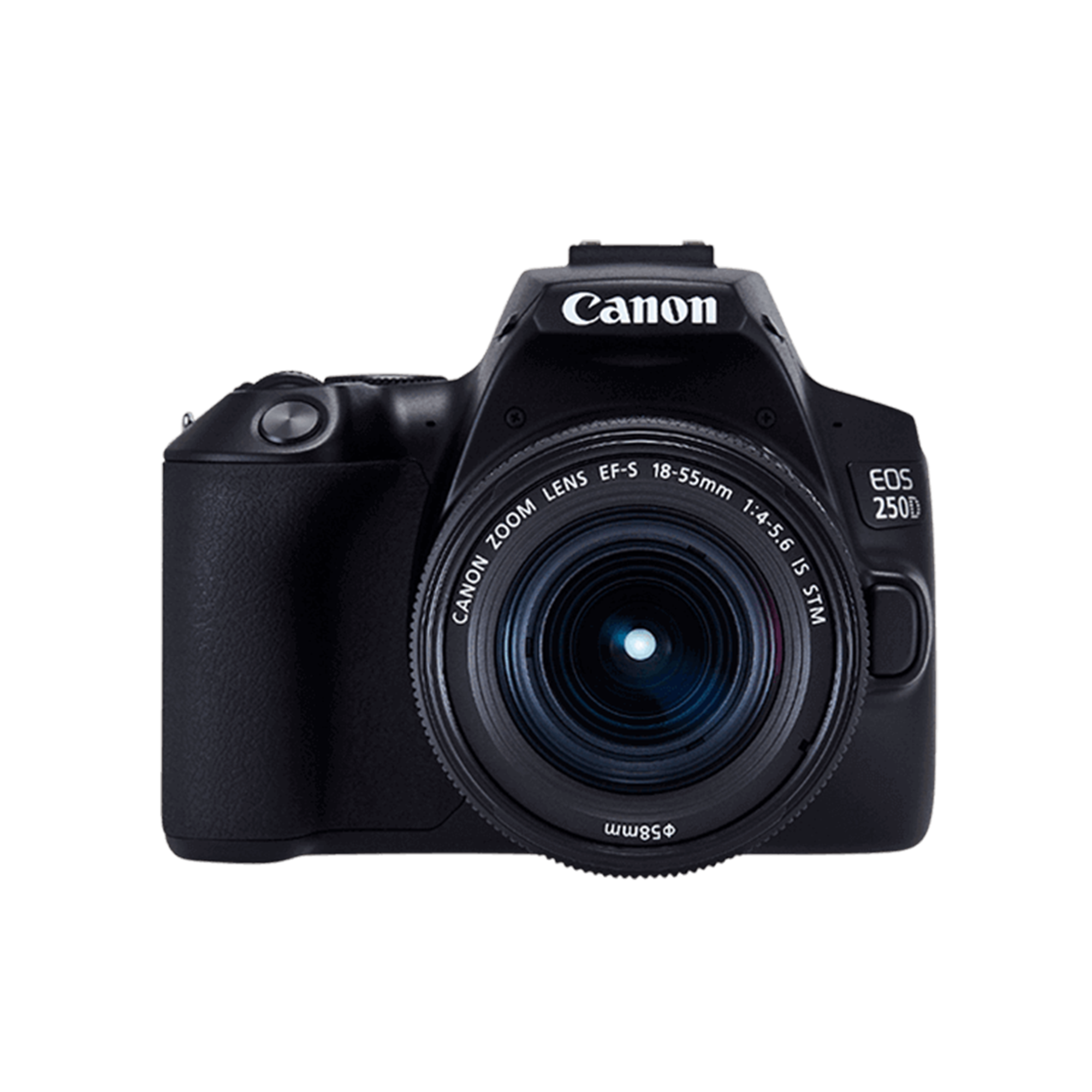 CANON CAMERA EOS 250D DSLR CAMERA WITH 18-55MM DC LENS