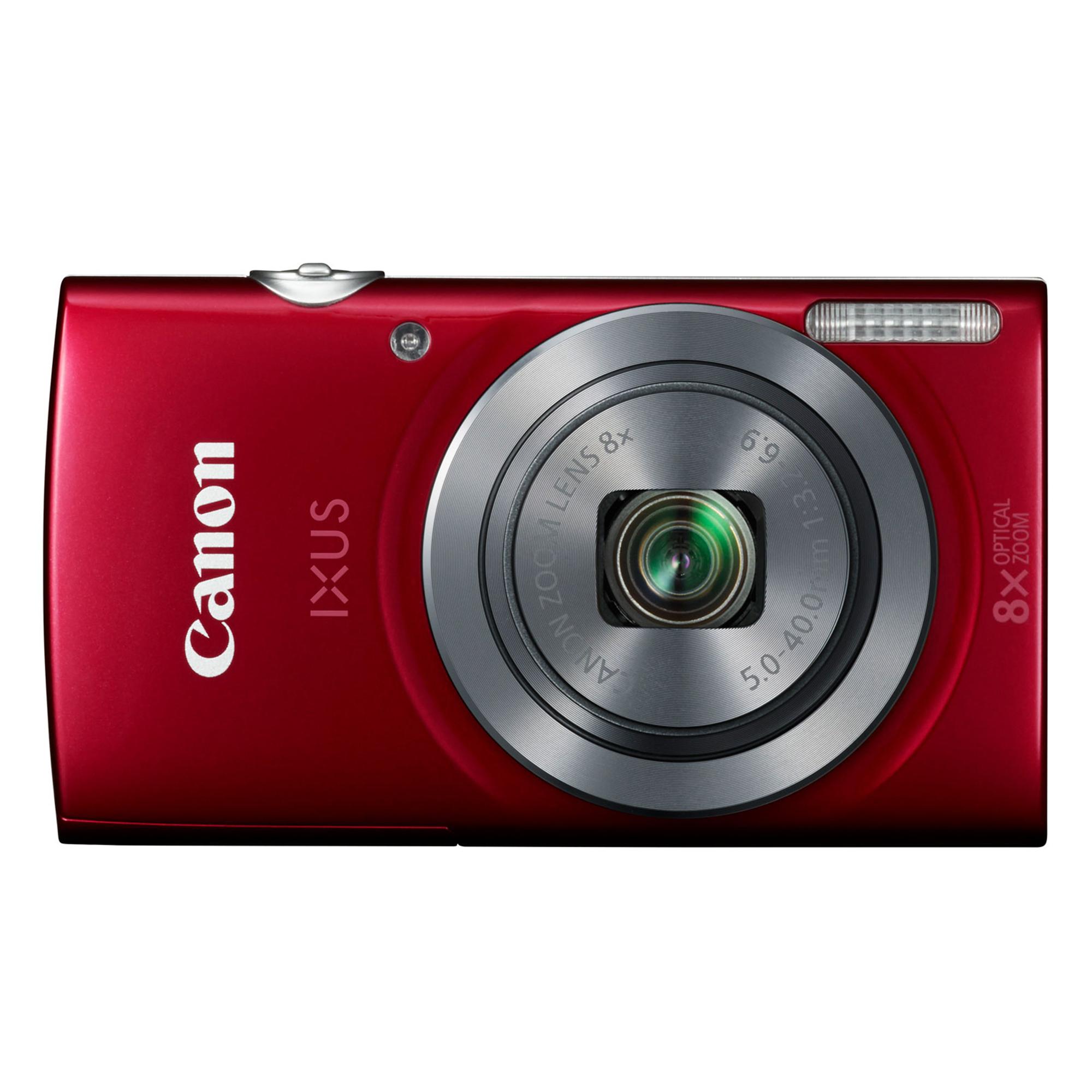 CANON IXUS 185 Red + Free Bag & Memory 8 GB