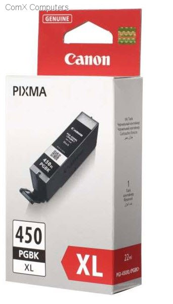 PGI-450 PGBK Black Ink tank EMB