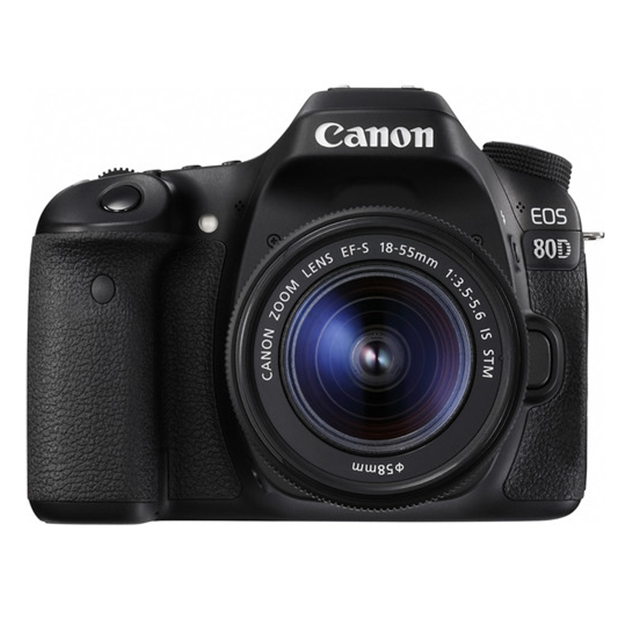 Canon EOS 80D DSLR Camera with 18-55 mm Lens